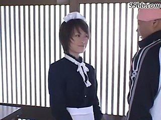 Piss; Japanese BDSM - Bondage maid girl