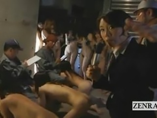 Bizarre BDSM Japanese human farm group blowjob exam