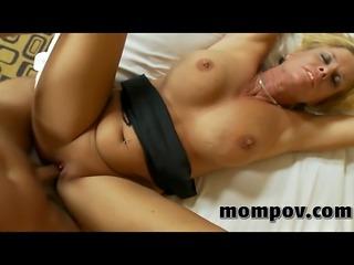 mature blonde milf gets fucked hard