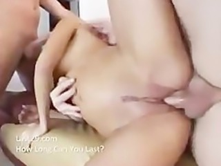 sativa rose gets doubel the cock