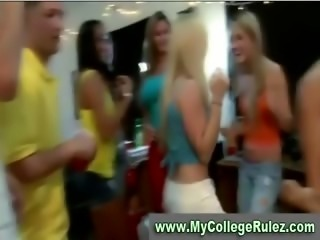Sexy teen college girl gets fucked hard at college sex party