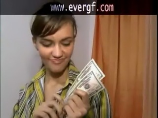 A boy exchanges her partner for cash free