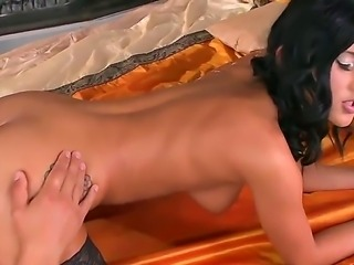 Classy Angelica Kitten proves her luxuriousness in the action. Her elegant...