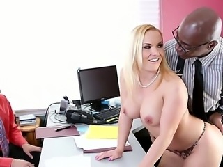 Enjoy drop-dead hot blonde babe Katja Kassin getting fucked by Chad Diamond...