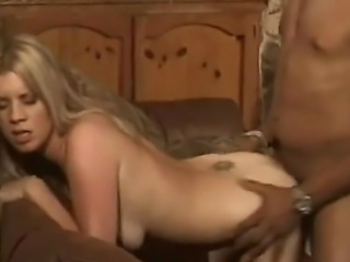 Horny and lusty blonde milf Lexus with slim body and small boobs enjoys in...
