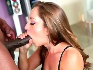 Remy LaCroix is a cool hot pornstar. She likes to suck large black cocks. Lex...