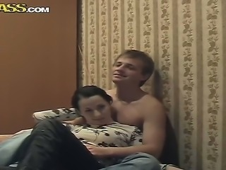 A nice teen couple from Russian