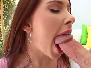 Sexy all natural redhead girlfriend with beautiful blue eyes and pale skin,...