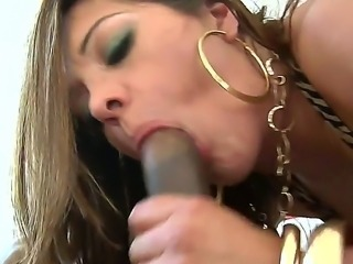 This large chick has enough room to handle two hard cock in her body. Check...