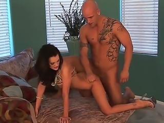 Brandi Edwards is having a hardcore deep fucking with her new boyfriend