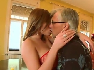 Christoph Meets The sexy Angel Donna