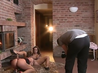 Cindy Dollar and hot Silvia Saint are giving another of their hot lesbians...