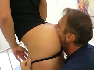Rocco Siffredi is relaxing with two very beautiful chicks in front of the...
