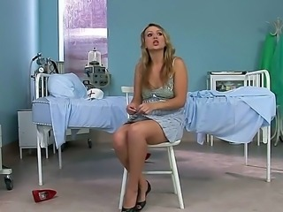 Hardcore and amazing interview with a nasty blonde girlfriend named Roxie