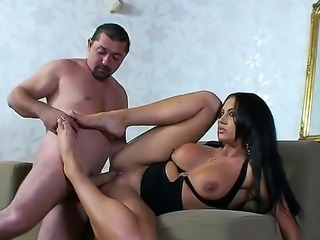 Hot Chaty Heaven being sucked her pussy and freak fucked like crazy doggystyle.
