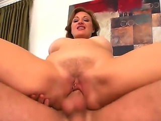 Sexy mature milf cant get enough as she moans and gasps as she is drilled...