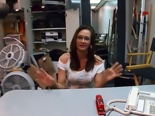 Stunning brunette milf Tory Lane enjoys in giving a hot blowjob session and...