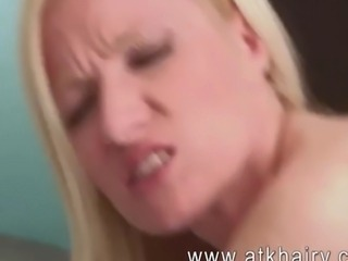 Mature and hairy Heidi Hanson fucks hard with her bold headed lover and gets...
