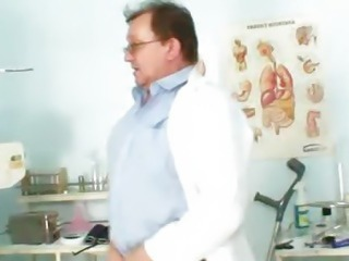 Ebony girl Manuella visits unlicensed fetish clinic