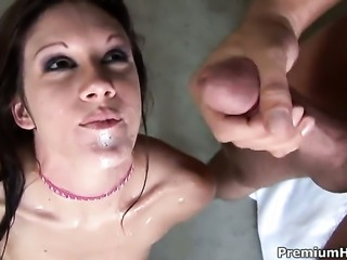 Taylor Rain milks cum loaded dick of her sex partner