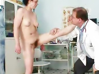 Cougar Helena lousy unshaven hole inspection