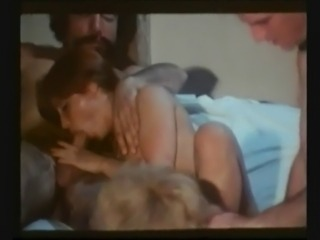 Vintage Group Sex At College