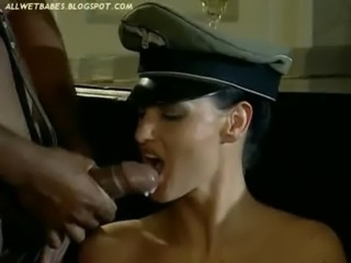Laura Angel Interracial Anal as Nazi Woman free