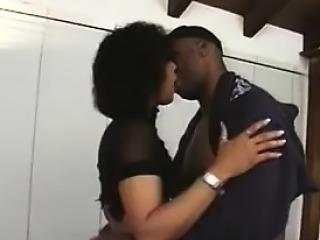 Black MILF Wants His Black Dick In Her