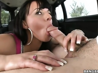 Brunette Kendra Star with round bottom groans in sexual ecstasy with horny...