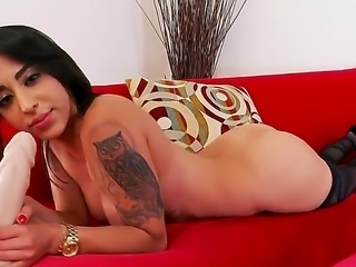 Penelope Stone is a lovely solo girl that is sticking her fingers inside her...