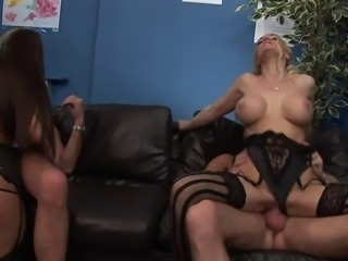 Sexy slut loves getting their pussies penetrated side by side