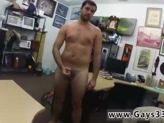 Straight boy caught naked gay Straight boy heads gay for cash he needs