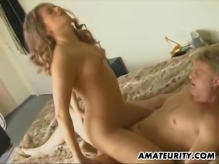 2 amateur girlfriends fucked by 2 guys ! Hot !