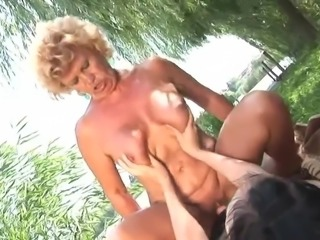 granny licking young cunt