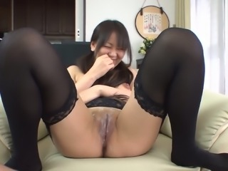 Morita Kurumi shaved and fucked while having asian anal fun shaved