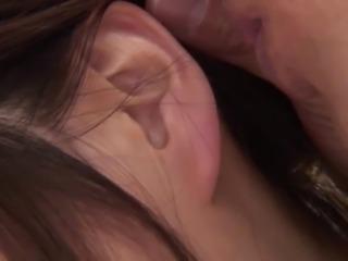 Sexy Japanese slut moan while fucking her pussy