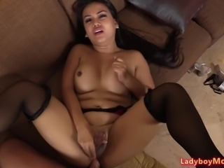 Ladyboy Amy Rough Bareback