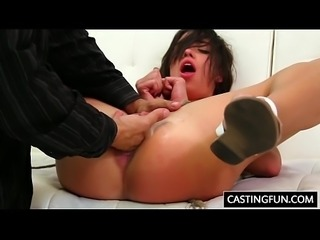Carly Marie Gets Rammed At Casting