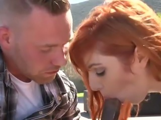 Lauren Phillips takes part in a bisexual threesome