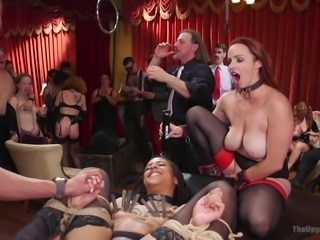ebony sex slave was fucked hard