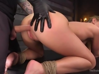 Training to receive the ultimate orgasm begins with letting the master take...