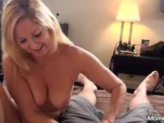 Granny gets fucked by young guy POV