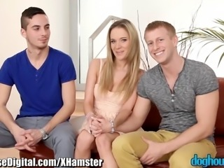 DogHouse Bisexual Couple's First Guy
