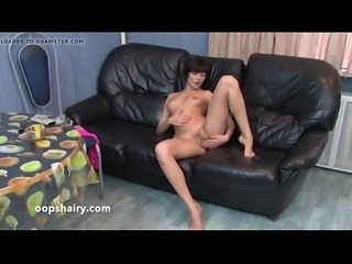 hairy Aisa in the kitchen more PornWebCamZ.com