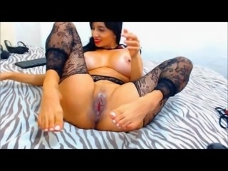 big tits latina's milf with sexy feet