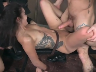 She is sexually broken and used as a sexual plaything by her two horny and...