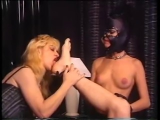 Black Leather Mask Mistress Of Ceremonies