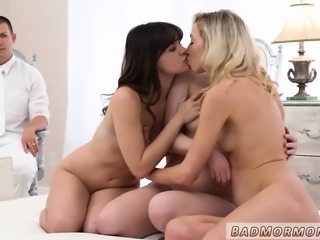 Teen first time blow job and threesome hd dp Petite