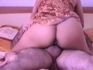Zesty woman with big ass enjoying passionate anal sex