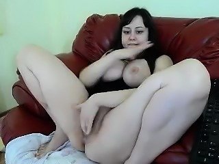 Big boobs Victoria Sweet solo in the tub